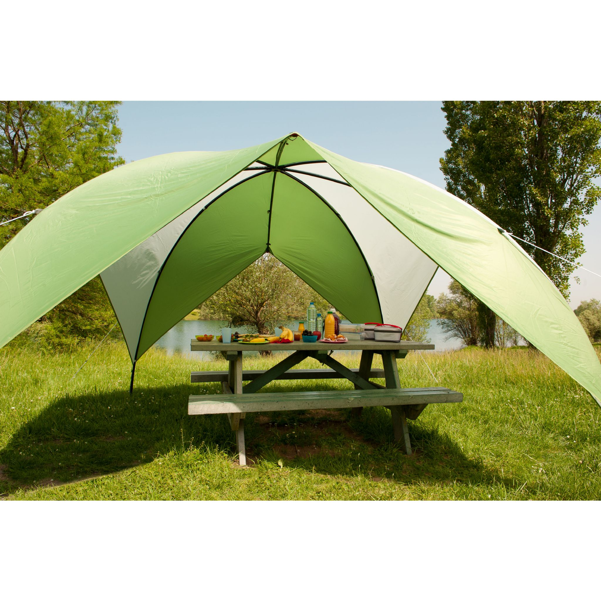Coleman Event Shade Shelter Medium 3M - Grasshopper Leisure C&ing u0026 Beach Shelters  sc 1 st  Grasshopper Leisure & Event Shade Shelter Medium 3M - Grasshopper Leisure Camping ...
